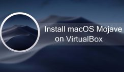 Install macOS Mojave on VirtualBox in Windows