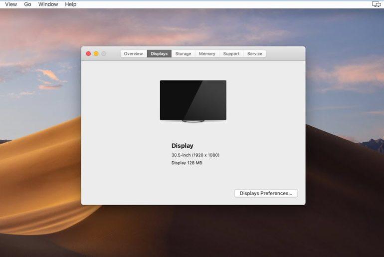 Install VMware Tools on macOS Mojave