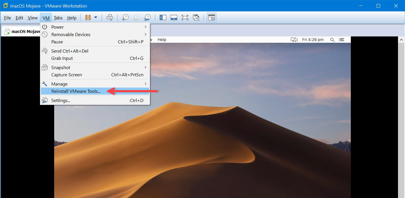 How to Install VMware Tools on macOS Mojave - Geekrar