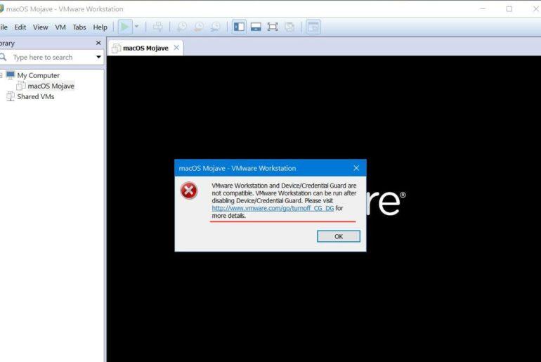 Fix Device/Credential Guard or VirtualBox Error on VMware & VirtualBox