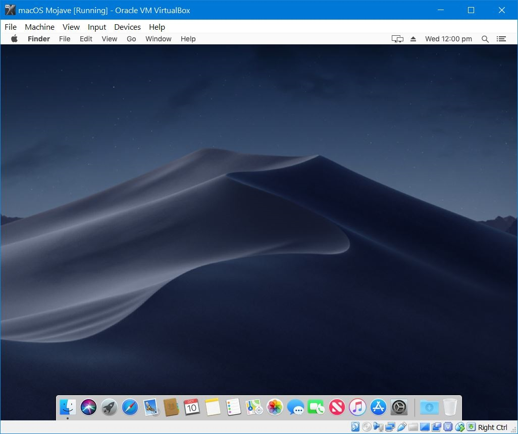 Install macOS Mojave on VirtualBox on Windows PC - Geekrar