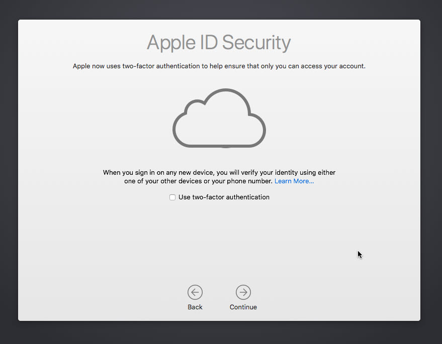 Apple ID Security