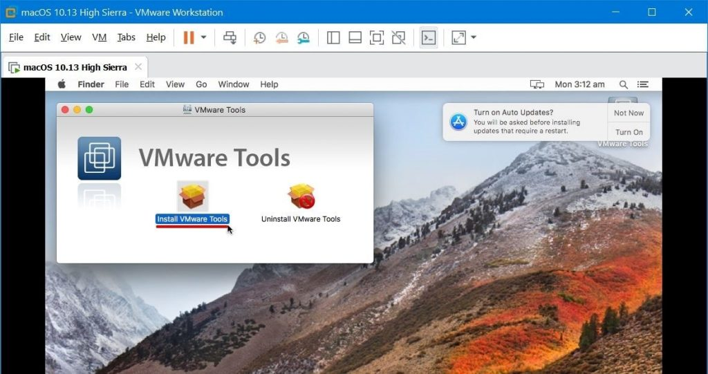 Install macOS High Sierra on VMware on Windows PC – Geekrar