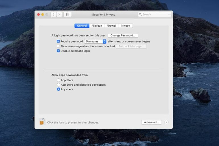How to Allow Third-Party Apps to Install on macOS Catalina