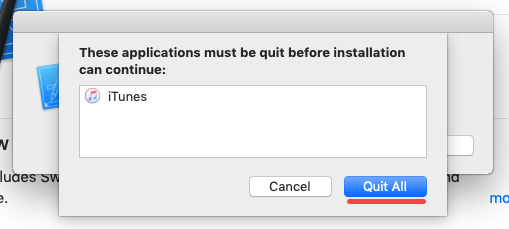 Quit Applications