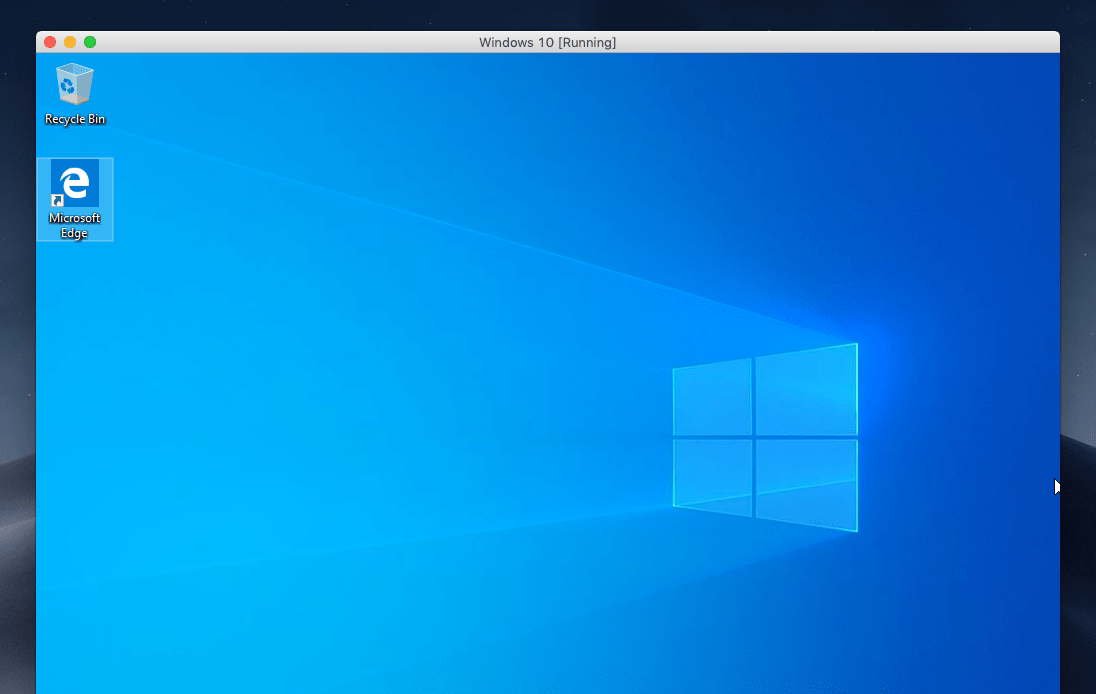 Install Windows 10 on macOS Mojave