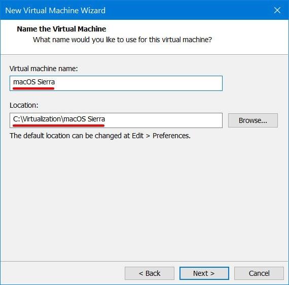 Personalize the virtual machine