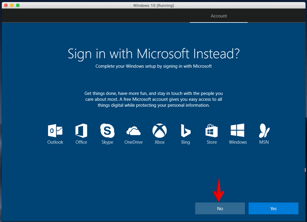 Sign In with Microsoft
