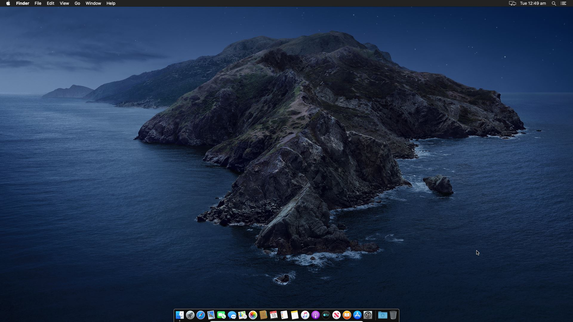 macOS Catalina Screen Resolution Changed