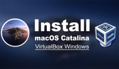 Install macOS Catalina on VirtualBox