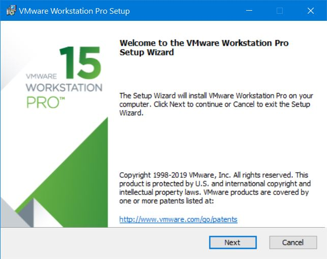 VMware Workstation Setup