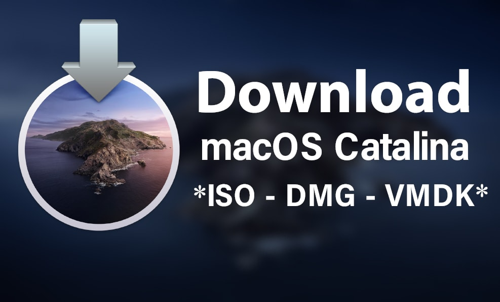 Download macOS Catalina ISO DMG VMDK - All In One