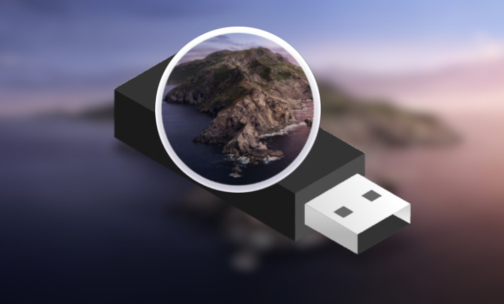 macOS Catalian USB Installer Created
