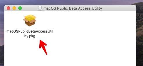 macOS Public Beta Access Utility