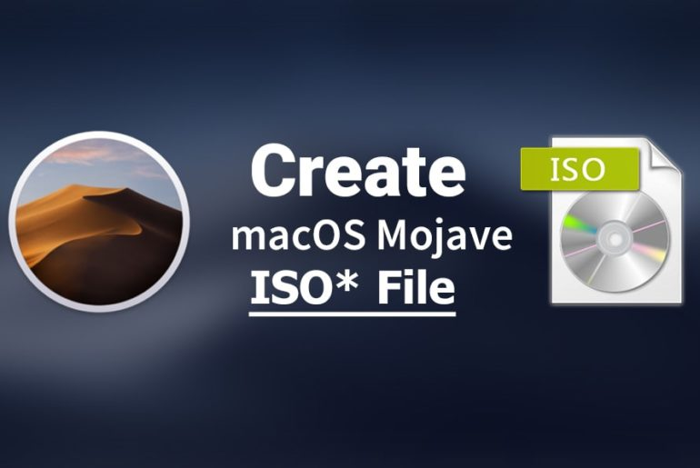 How to Create macOS Mojave ISO File