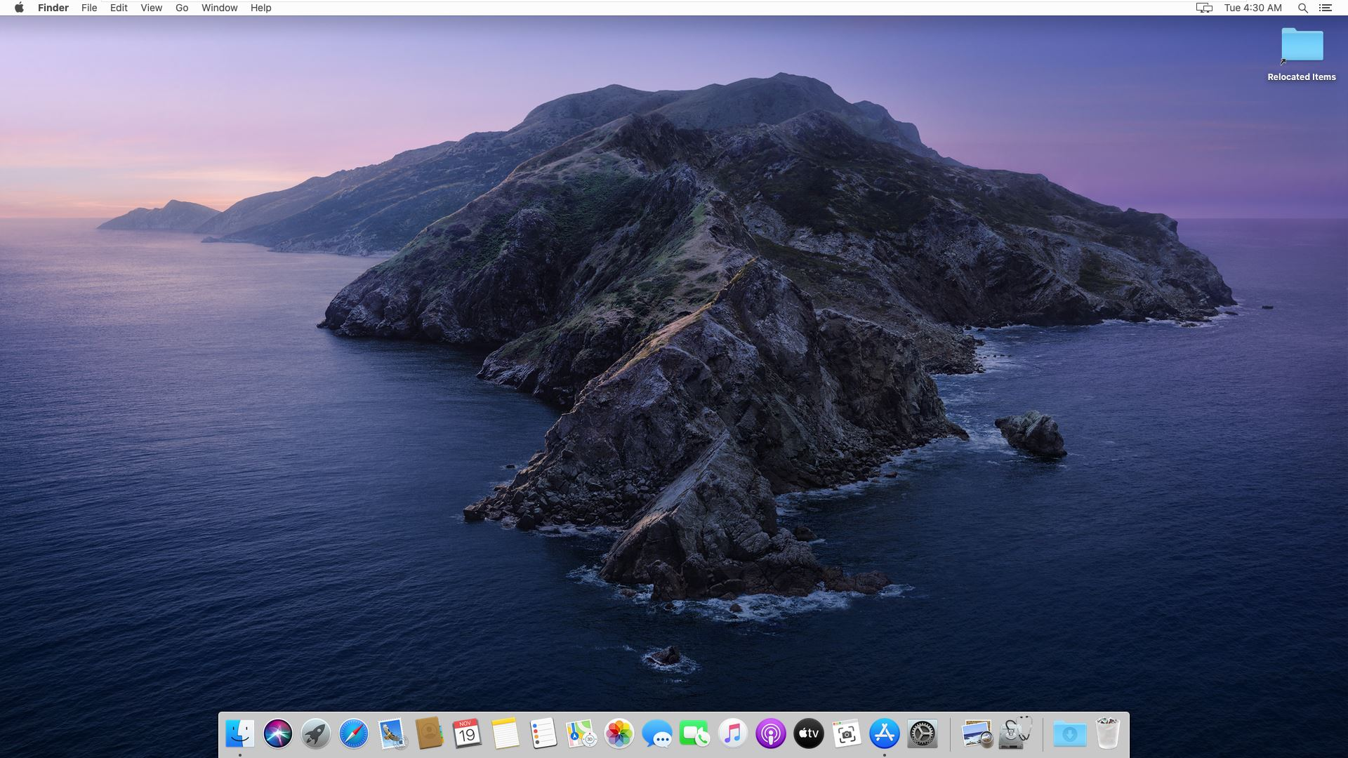 Upgraded to macOS Catalina