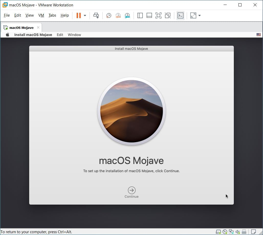 How to Install macOS Mojave on VMware on Windows PC