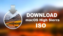 Download macOS High Sierra ISO For VMware & VirtualBox