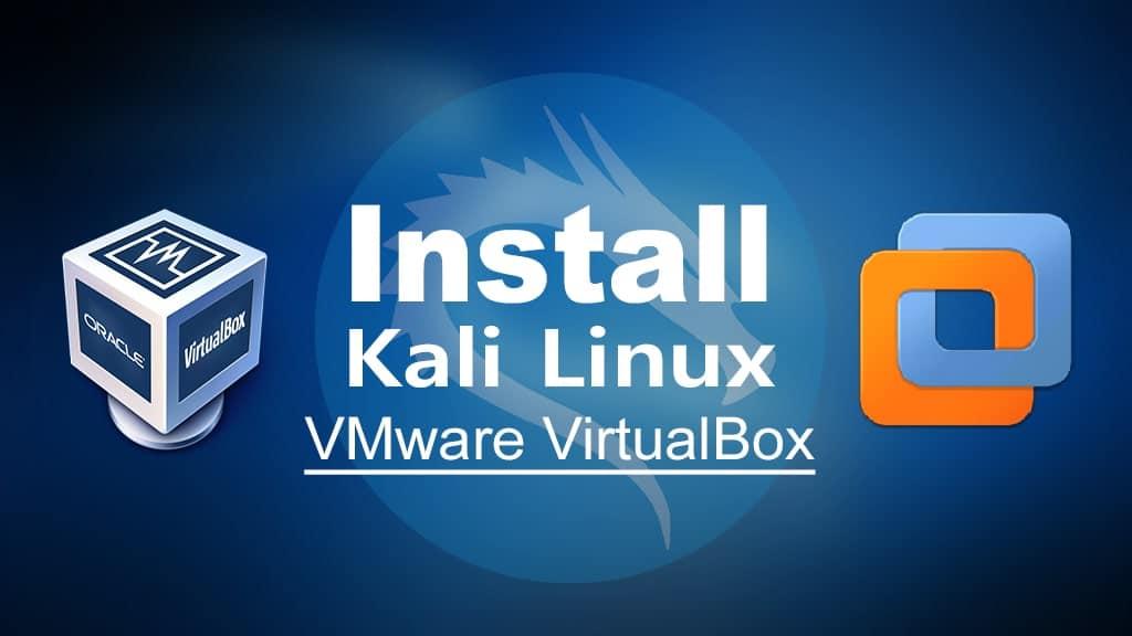 Install macOS Kali Linux on VMware VirtualBox on Windows PC
