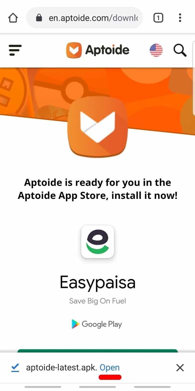 Open Aptoide