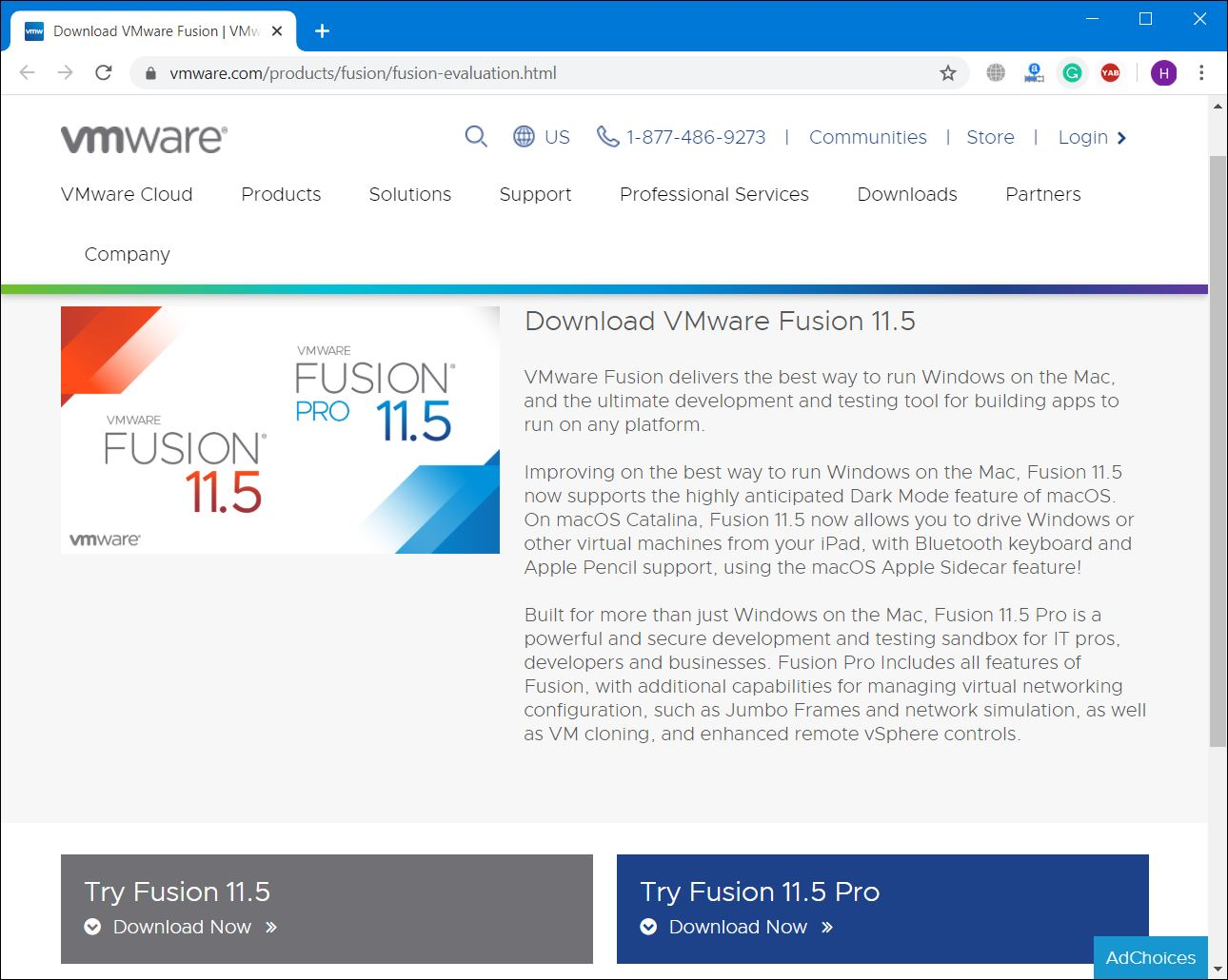 Download VMware Fusion