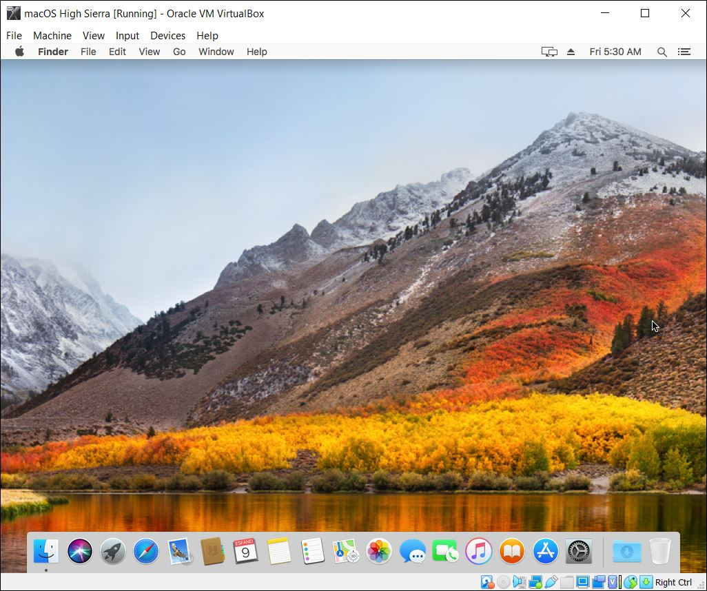 Install macOS High Sierra on VirtualBox on Windows PC [New Method]