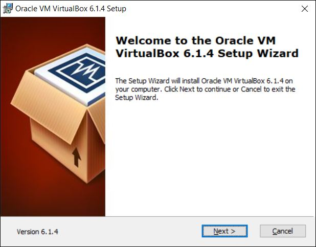 VirtualBox Installation Wizard