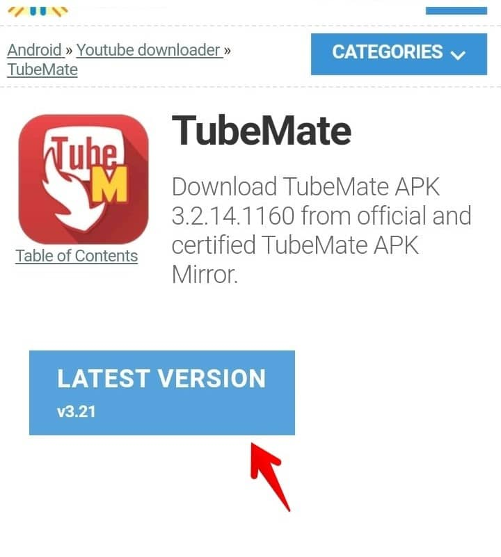 Latest Version of Tubemate