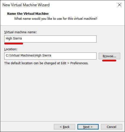 Install macOS High Sierra on VMware on Windows PC