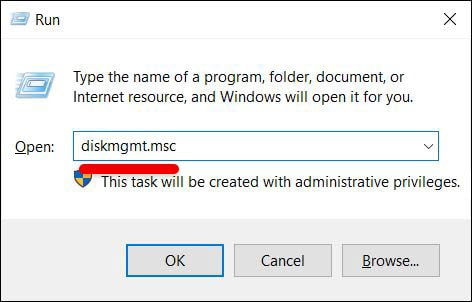 Open Disk Managment