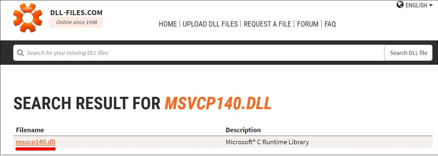 how to fix or reinstall MSVCP140.dll Error in Windows 10
