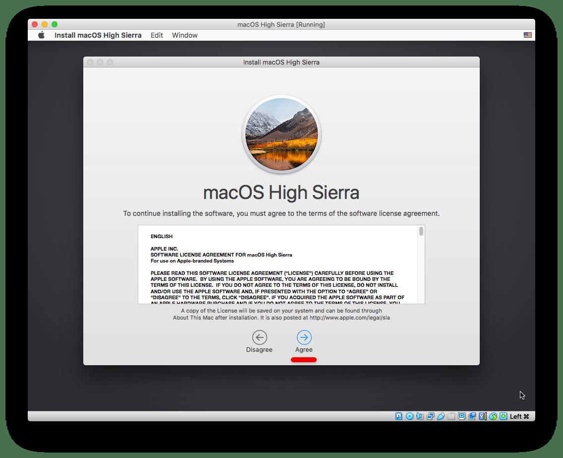 Install macOS High Sierra on VirtualBox