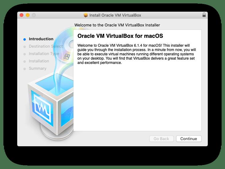 VirtualBox Installation Wizard