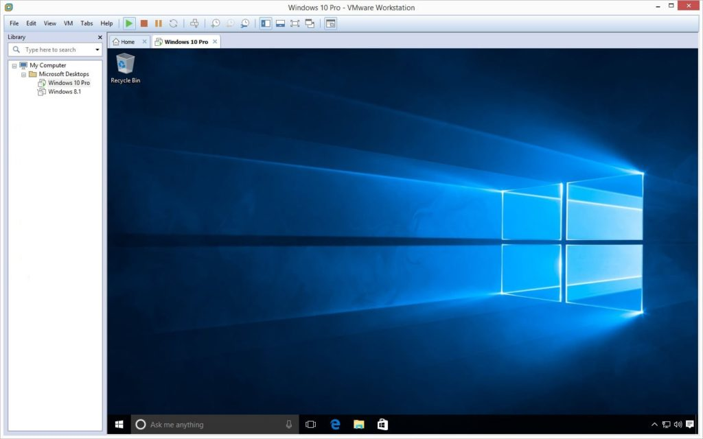 How to Install Windows 10 on VMware Workstation Pro