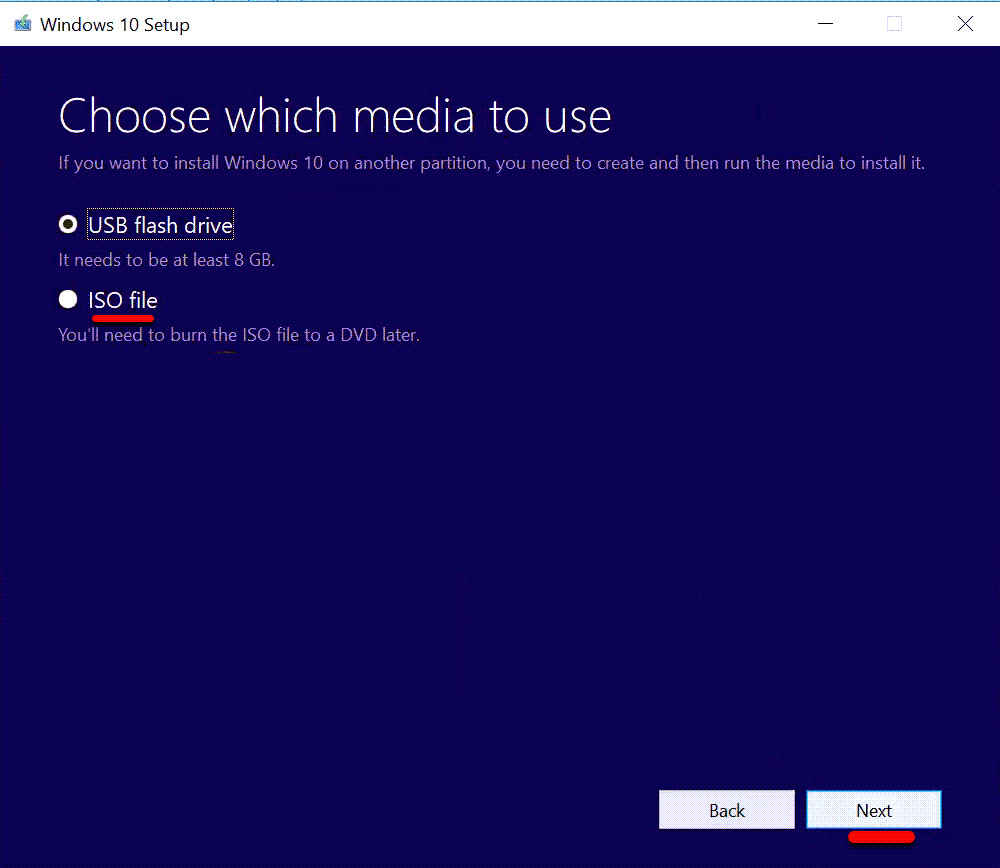 Create Windows 10 ISO
