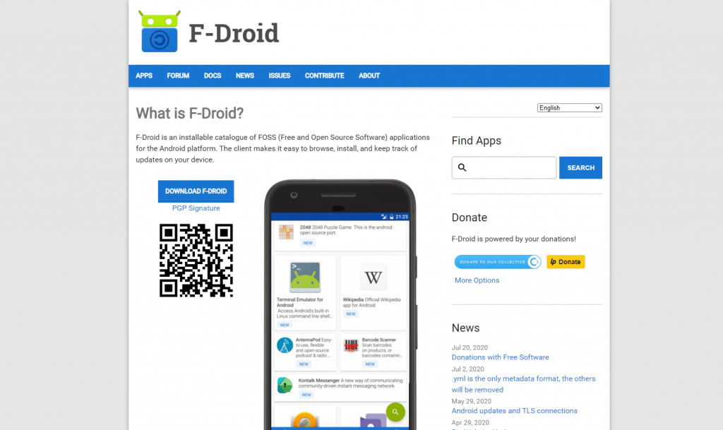 Where to download Android apps