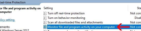 monitor file