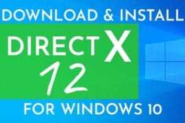 DirectX download for Windows 10
