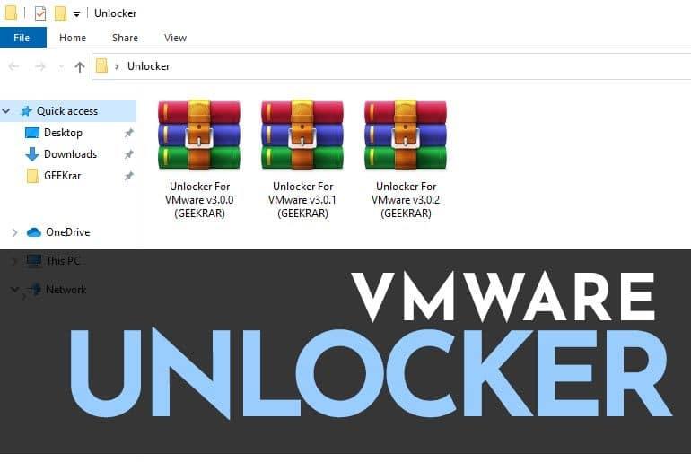 vmware unlocker