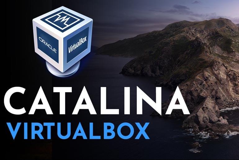 macos Catalina on VirtualBox on Windows 10