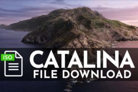 macOS Catalina Download 10.15 ISO