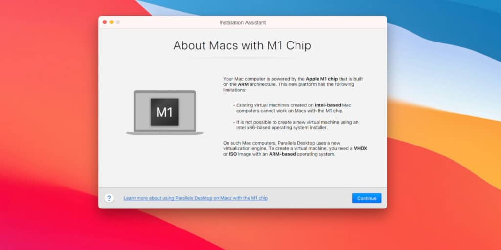 Install Windows 10 on a Mac with an M1 chip with 64-bit Program Support