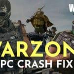call of duty warzone crashing pc