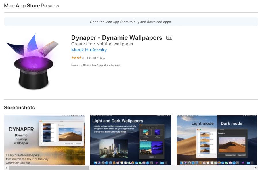 dynamic wallpaper?